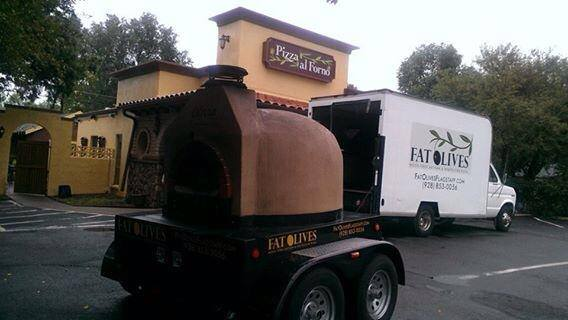 Fat Olives Catering Mobile Oven
